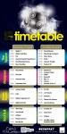 Festival Timetable